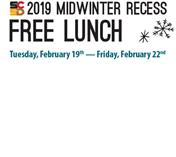 2019 Midwinter Recess Free Lunch Meal Sites